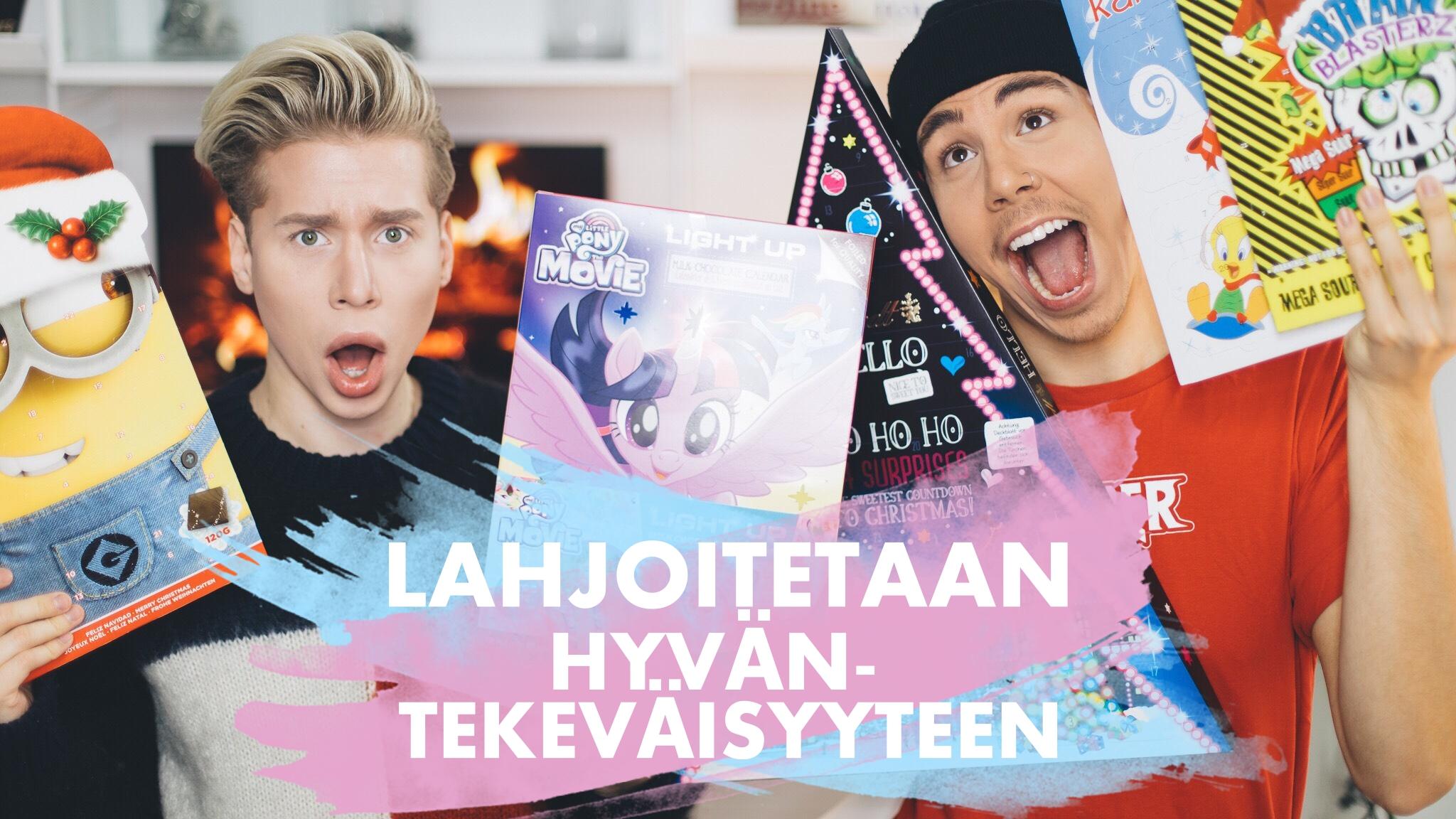 naag joulukalenteri 2018 VIDEO: TESTISSÄ JOULUKALENTERIT 2017 / JOULUKALENTERI TULEE   naaG naag joulukalenteri 2018