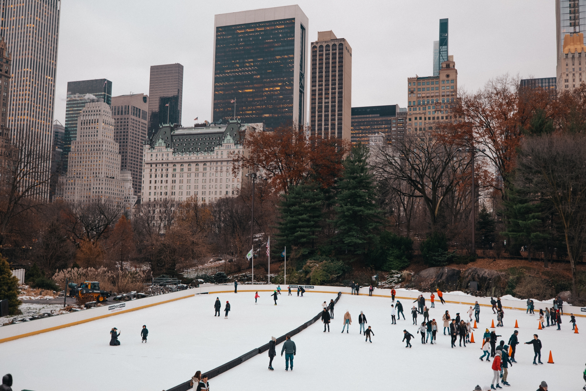 central park new york christmas